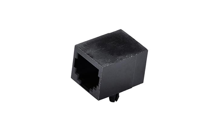 FRJ11001 RJ11 6P6C 90°插件 单口