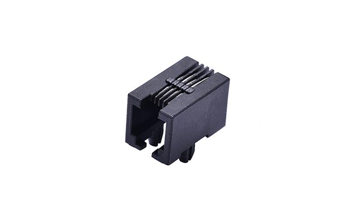 FRJ11005 RJ11 4P4C 90°插件 单口