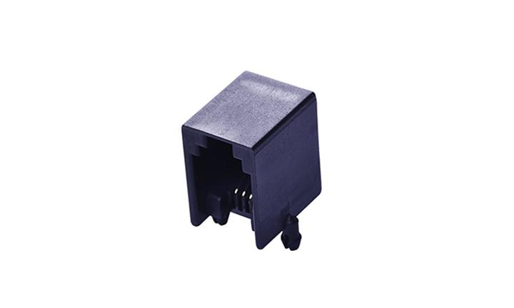 FRJ11008 RJ11 4P4C 90°插件 单口