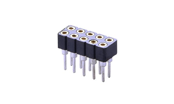 FSI20001 SIP插座 2mm 180°插件 母座