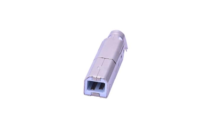 FUS248 USB2.0 B/M 焊线式三件套 A型(小线夹)