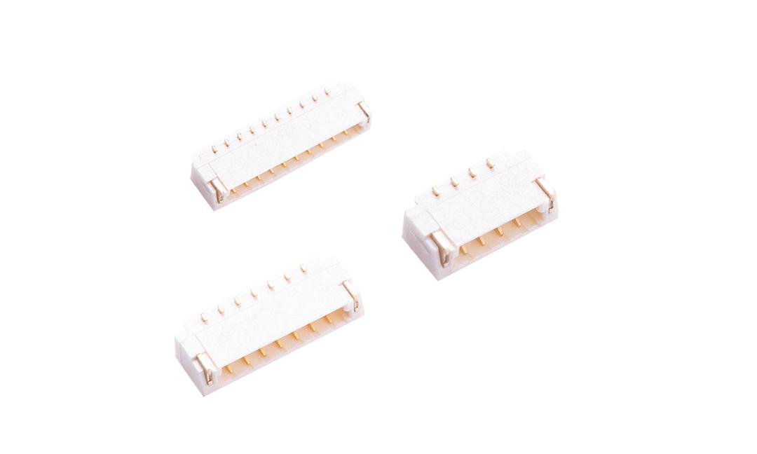 FWF08002 板装插座 0.80mm 卧贴 (9T)