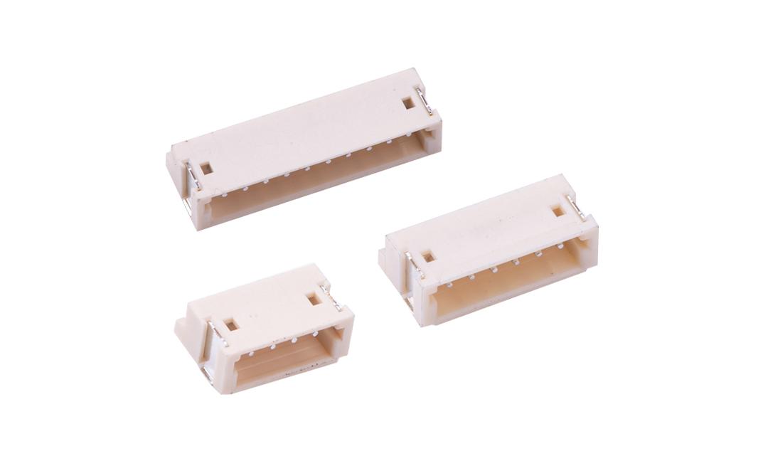 FWF15004 板装插座 1.5mm  卧贴(9T)