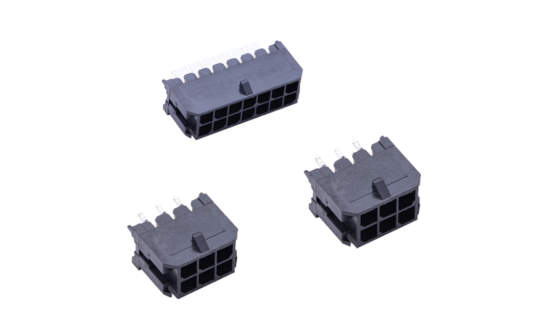 FWF30001 板装插座 3mm 180° 插件