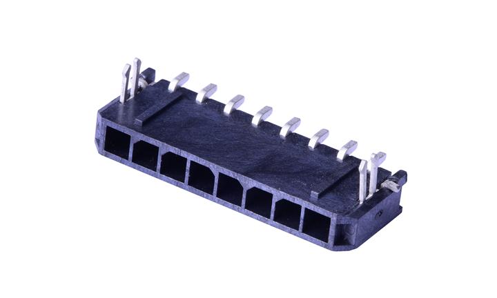 FWF30006 板装插座 3mm 卧贴(LCP)