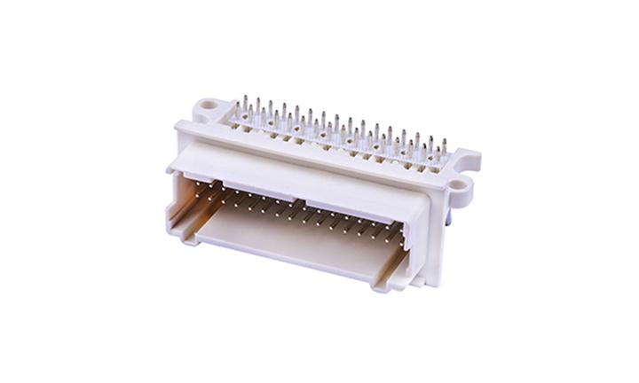 FWF30015 汽车连接器 90°插件(穿孔式)