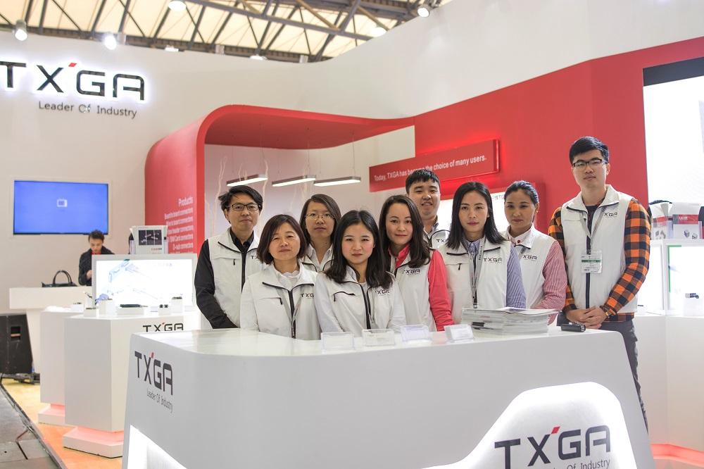 2018年慕尼黑上海电子展于3月16日圆满落幕。此次展会上,TXGA展示了其在工业、消费类电子、新能源、汽车等领域连接器解决方案